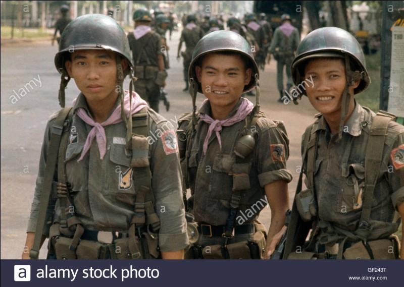 Comment appelle-t-on la zone où il y a eu la guerre du Vietnam ?