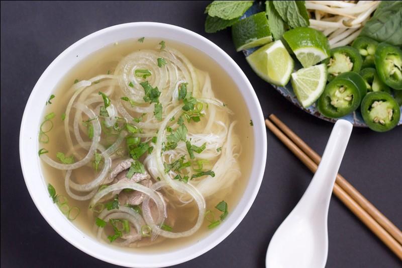 Quel est le plat typique du Vietnam ?