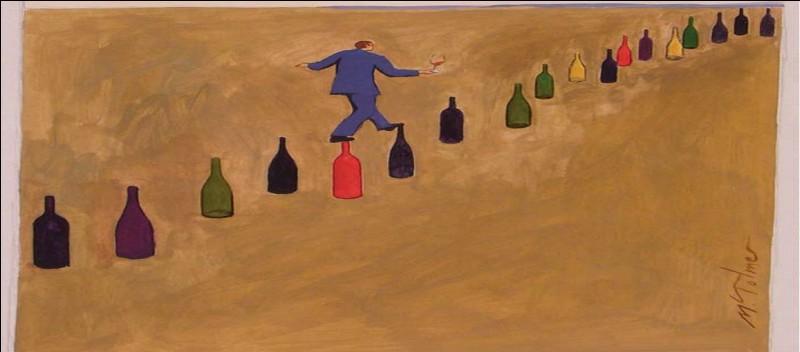 Quand les amateurs de vin sont croqués avec humour dans un monde où l'on flotte, on savoure avec délectation les images de cette BD écrite par Michel Tolmer un peintre-graphiste.Retrouvez le 3e élément, bien connu dans une chanson à boire, du titre.