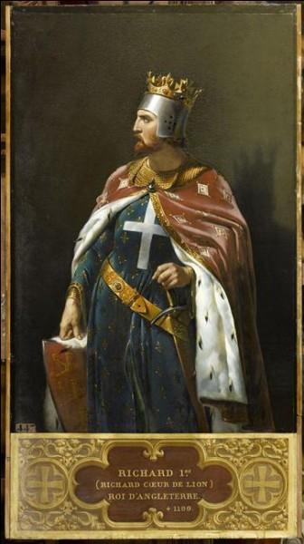 """Au Moyen Âge, même si le lion est parfois associé au mal, il garde une valeur positive. On peut prendre pour exemple Richard Ier d'Angleterre surnommé """"Cœur de Lion"""". De qui est-il le fils ?"""