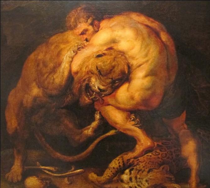 En parlant de la chimère, je vous présente son enfant, le Lion de Némée. Il a la particularité d'avoir la peau impénétrable. Le tuer fut le premier travail d'Hercule. Quel est le nom de celui-ci pour les Grecs ?