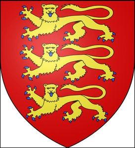 On trouve le lion sur de nombreux écussons. Il représente ainsi la Belgique, la Norvège ou encore la ville de Lyon. Sur quel blason le retrouve-t-on avec une tête de léopard ?
