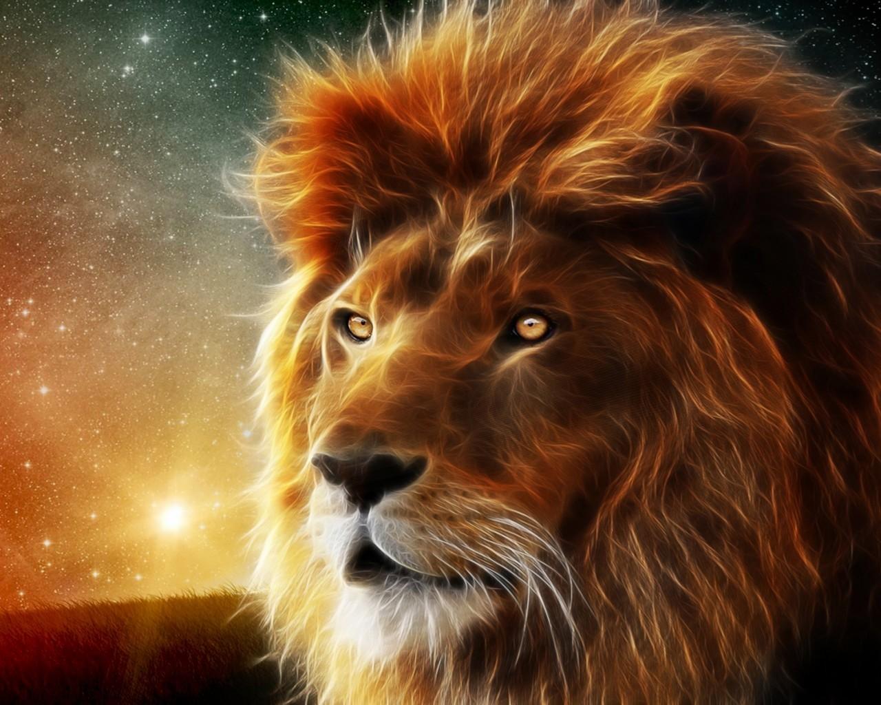 Les lions dans la culture
