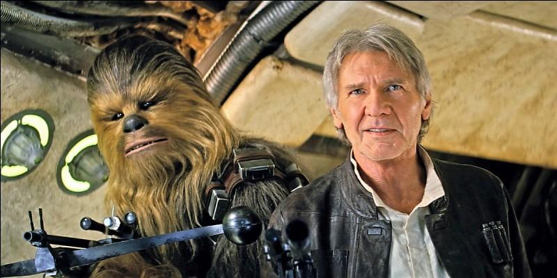 Han Solo est tué par son fils Ben Solo.