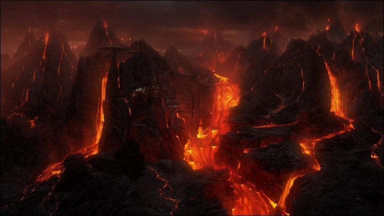 La planète de lave sur laquelle Anakin Skywalker et Obi-Wan Kenobi se sont affrontés se nomme Mustafar.
