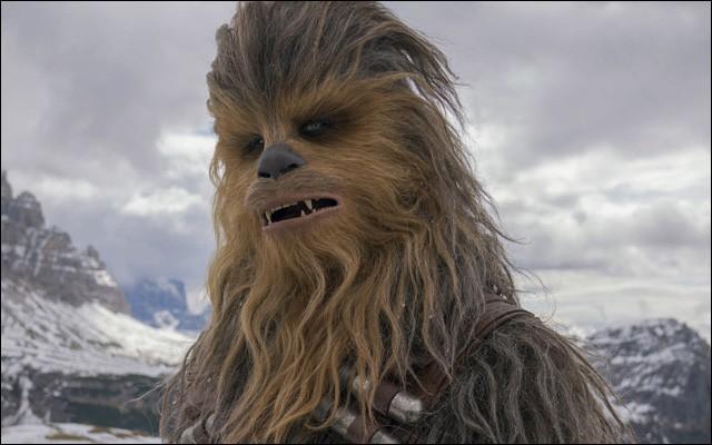 Chewbacca est de l'espèce Ewok.