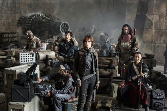 Rogue One se déroule entre les épisodes 3 et 4.