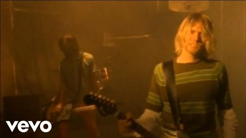 """Quel groupe a réalisé la musique """"Smells Like Teen Spirit"""" ?"""
