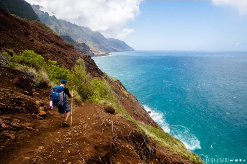 Au départ, de grandes falaises lui donnent son caractère unique et farouche. Le turquoise de l'océan ne doit pas vous distraire. Cette belle randonnée est très dangereuse.Le sentier est bien défini et suit tout le temps l'océan. Son point ultime, la plage du même nom, est un paradis.Nommez cette sortie où vous aurez 4 rivières à traverser ainsi que des falaises glissantes exposées au vent ?