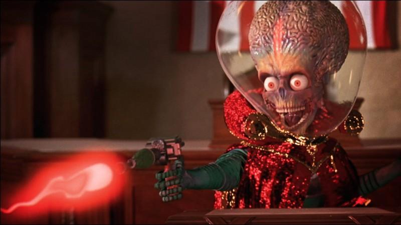 """""""Mars Attack !"""" est un long-métrage joué par Jack Nicholson."""
