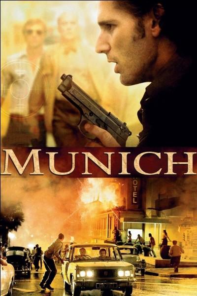 """""""Munich"""" est un long-métrage mis en scène par Steven Spielberg."""