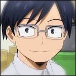 Quel est le nom de héros du frère de Iida Tenya ?