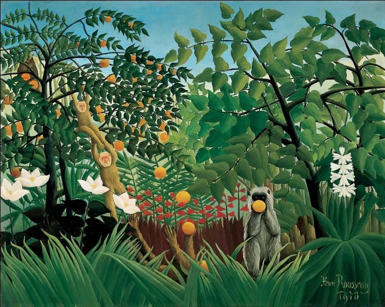Quel est le style des peintures d'Henry Rousseau ?