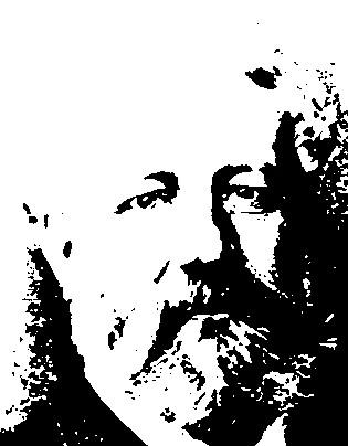 Écrivains célèbres en noir et blanc