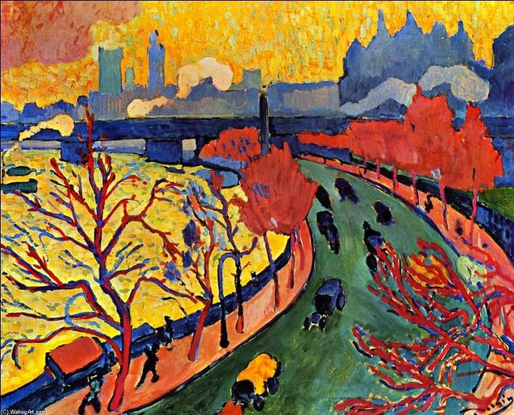 """J'aime tes couleurs, et ton """"Pont de Charing-Cross"""" !"""