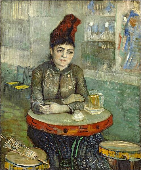 """Quant à toi tu avais pris pour modèle cette italienne ! Et quand tu quittais ta Provence pour te rendre à Paris, tu aimais bien aller boire un verre dans son bar """"Le Tambourin"""", n'est-ce pas... ?"""