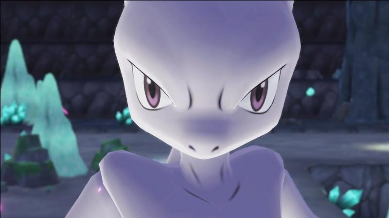 C'est le combat final, Mewtwo est en face de toi, comment réagis-tu ?