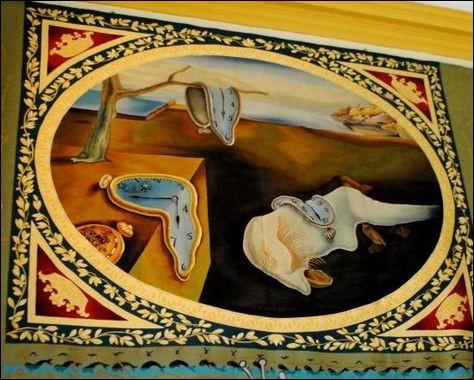 Dans le même département et rimant avec le dernier de ce quiz, il évoque un tableau de Dali. Lequel ?