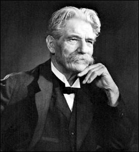 Ce médecin, pasteur et théologien protestant, est connu dans le monde entier pour l'hôpital qu'il a développé dans la forêt équatoriale. Il a reçu en 1952 le prix Nobel de la paix. Il s'agit de ...