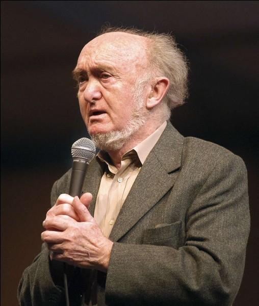 Ce biologiste, généticien, spécialiste de génétique des populations, également connu pour ses engagements civiques, c'est ...