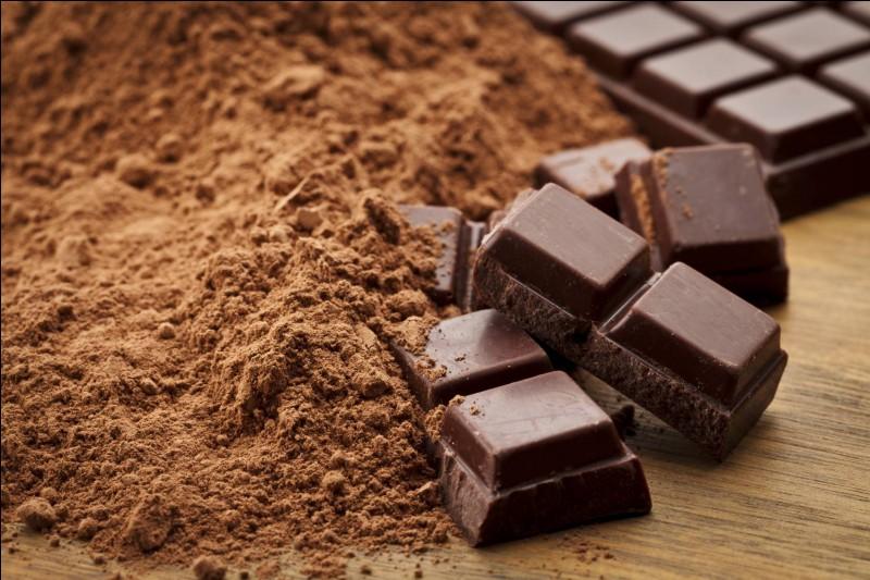 Dans quel plat peut-on mettre un carré de chocolat ?