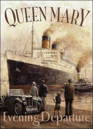 """Qui chantait """"Quand je pense à la vieille anglaise qu'on appelait le Queen Mary..."""" ?"""