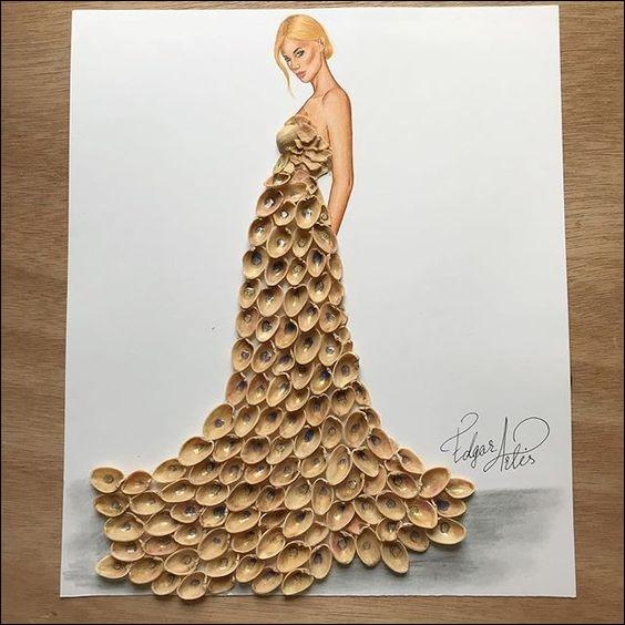 """Ce gala, vous l'imaginez, a eu d'innombrables retombées de Presse. Le journaliste du """"Joyeux Canard"""" n'a pas tari d'éloges sur la robe portée par Claudia Schiffer, alors qu'il s'agissait de Kate Moss !"""
