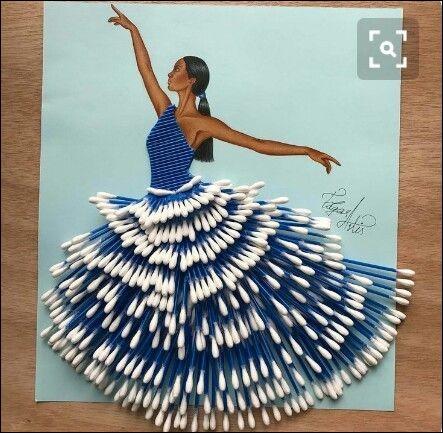 Avant de commencer le quiz, nous rendons au hommage au dessinateur Edgar Artis, à qui l'on doit la plupart de ces jolies créations. Un artiste dont je voulais vous faire découvrir le talent...Si je vous dis que cette robe originale est une création issue de la haute couture, que vous viendra-t-il à l'esprit ?