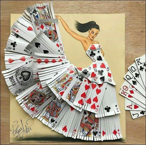 Quant à cette robe pleine de charme, son couturier peut en être fier :