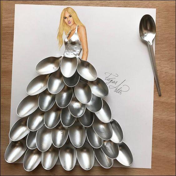 Luxueuse robe, mais pas à la portée de tout le monde, si vous l'achetez...