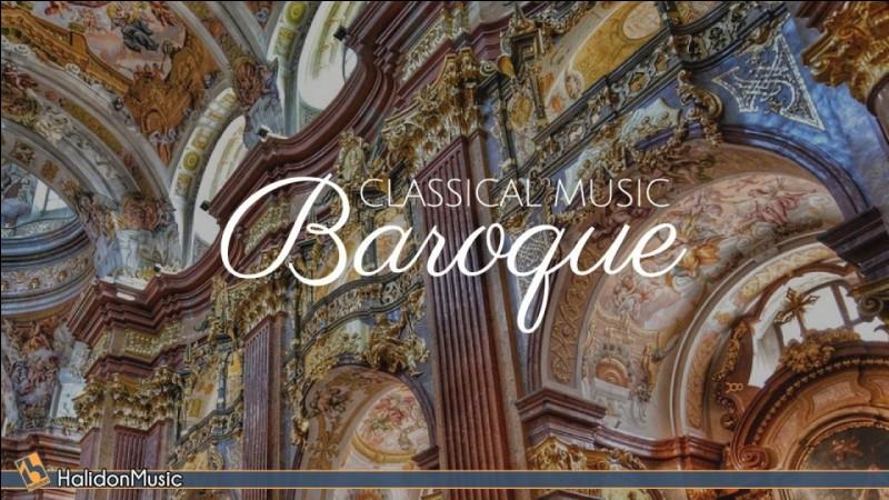 """Les auteurs appartenant au """"baroque"""" sont :"""