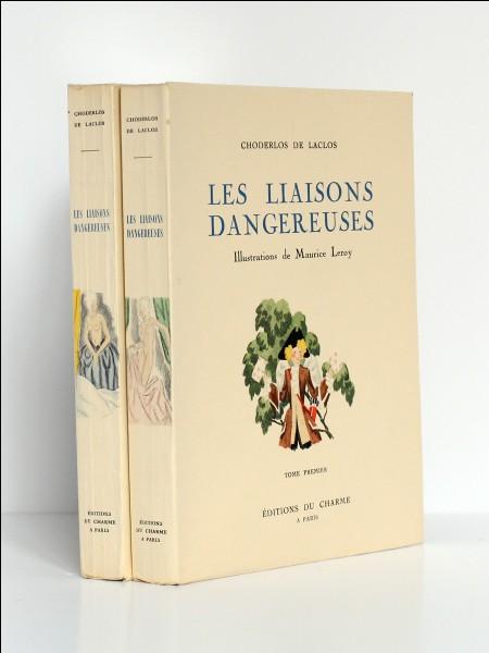 """""""Les Liaisons dangereuses"""" de Laclos est un texte :"""