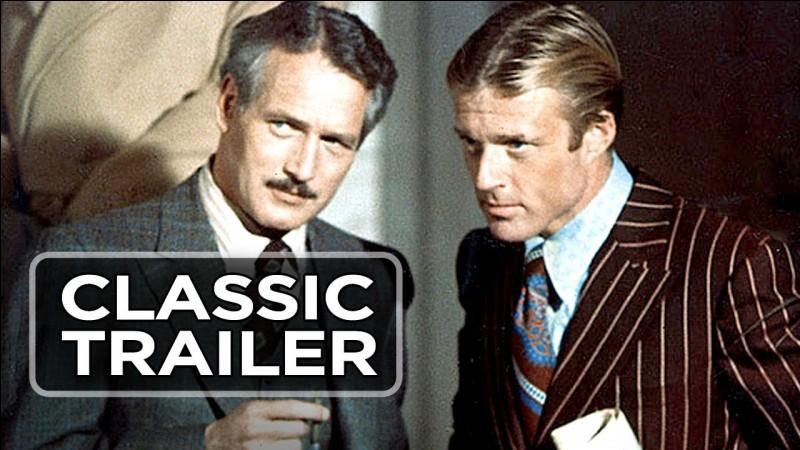 Quelle film réunit à l'écran Robert Redford et Paul Newman ?