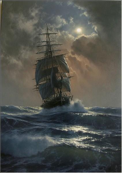 Quel mot désigne l'arrière d'un navire ?