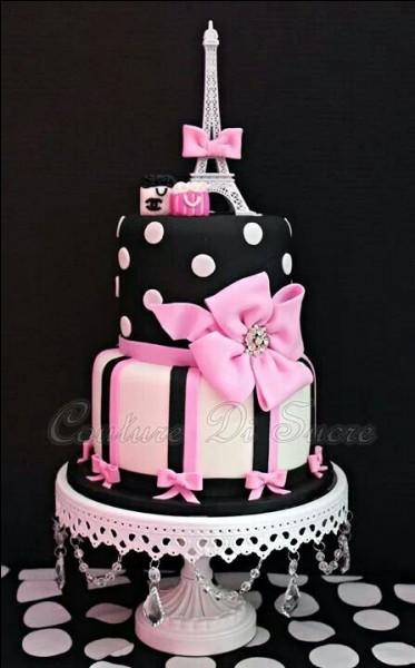 Nous avons invité sa fille pour son anniversaire :