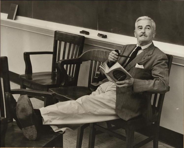 Dans quel État des Etats-Unis, l'auteur William Faulkner a-t-il passé la quasi totalité de sa vie ?