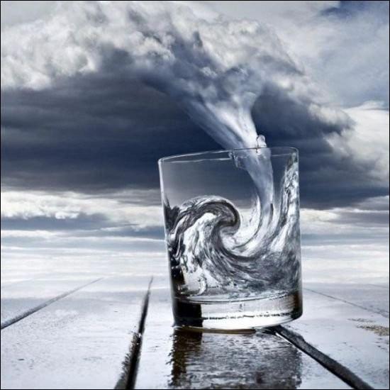 Mon conseil, selon la vieille expression : Vivons d'amour et d'eau...