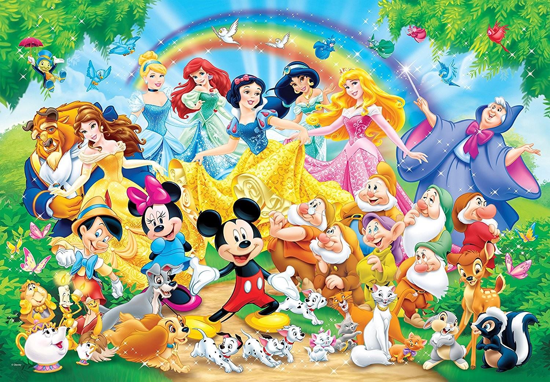 Les personnages des grands classiques de Disney 2