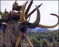 Les Oliphants, aussi appelés Mûmakils, sont dirigés par ...