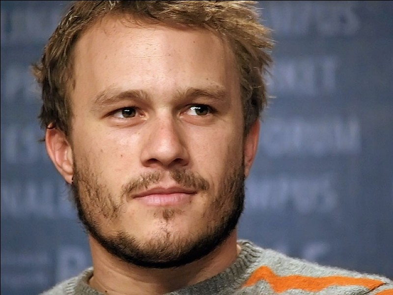 Heath Ledger a joué dans quel film parmi ceux proposés ?