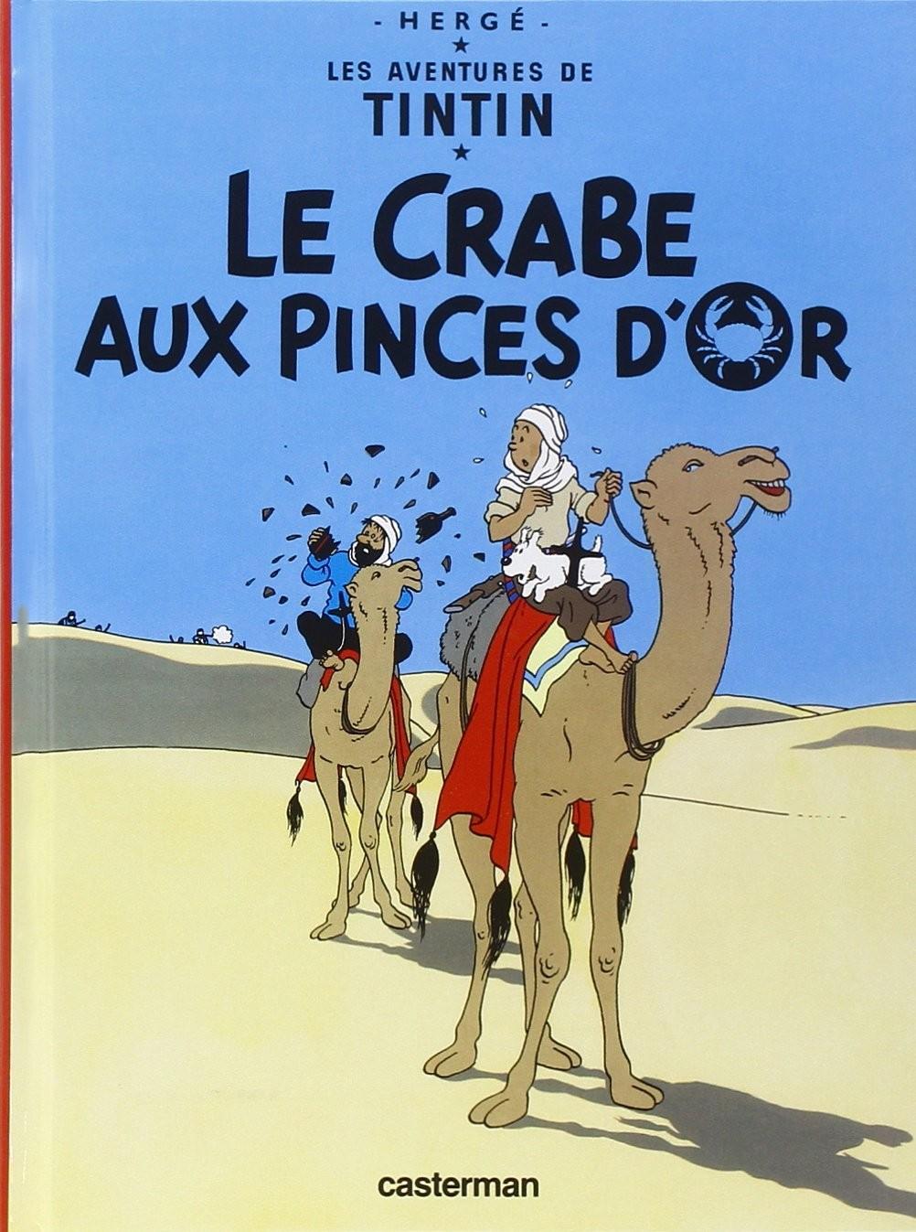 Tintin : ''Le Crabe aux pinces d'or''