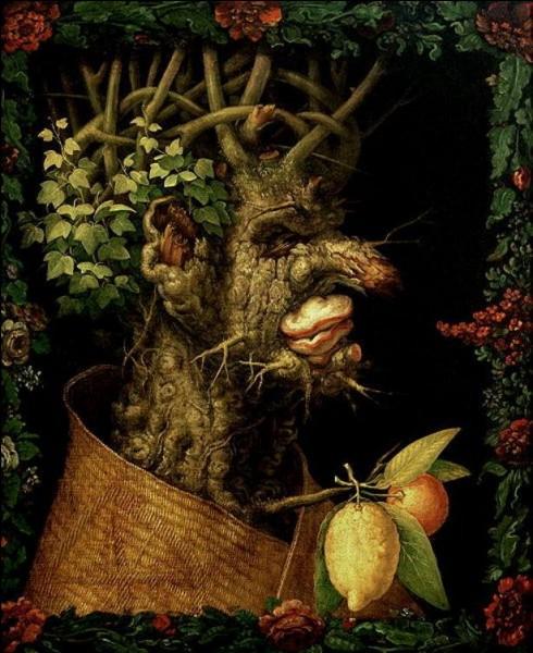Voici « L'hiver », un des quatre tableaux (Les saisons) peints par Arcimboldo. Quel est le prénom de ce peintre ?