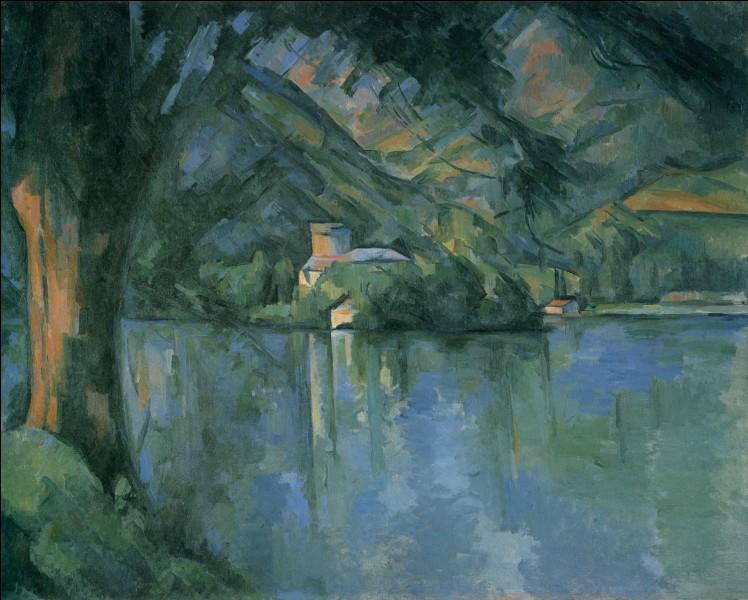 """Quel peintre a réalisé ce beau paysage """"Le Lac d'Annecy"""" ?"""