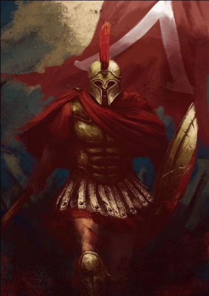 Quel est ce peuple de guerriers exceptionnels nés des dents semées de Cadmos ?