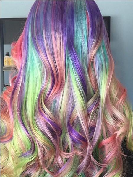 Quelle serait ta couleur de cheveux ?