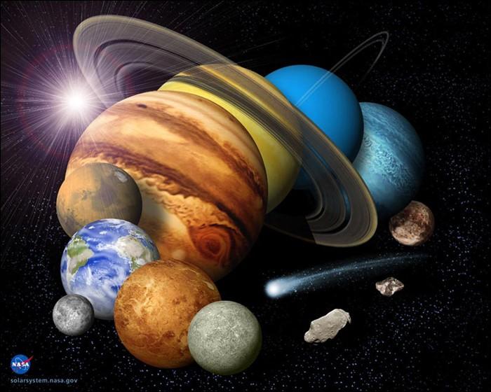 Quelle planète préfères-tu ?