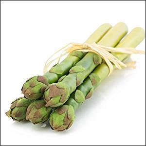 À la portée de toutes les sauces, voici le bouquet d'asperges vertes ... (Complétez !)