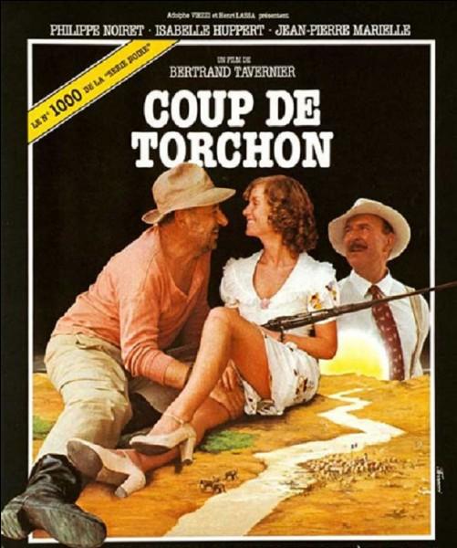 Quel chanteur (de son vrai nom Claude Moine) joue dans le film ''Coup de torchon'' ?
