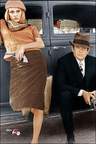 """Quel duo a interprété les paroles de la chanson qui rend hommage au célèbre couple """"Bonnie and Clyde"""" ?"""