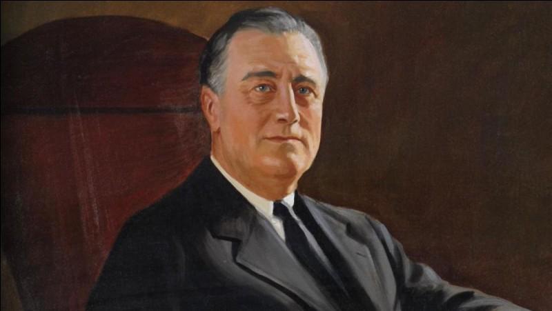 Qui était président des États-Unis au début de la Seconde Guerre mondiale ?